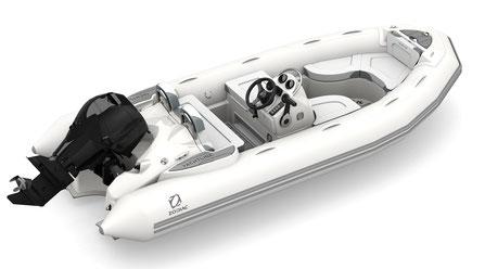 Zodiac Yachtline 440 Deluxe RIB - Rubberboot Holland Aalsmeer