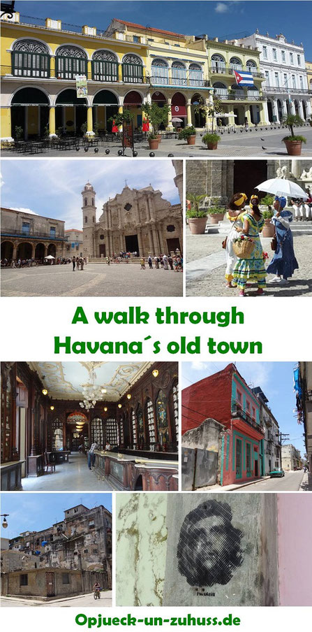 A walk through Havana´s old town