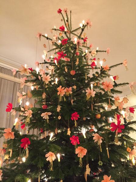 Weihnachtsbaum von der Goethe-Zeit ゲーテ時代のクリスマス・ツリー