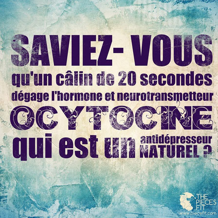 Un calin de 20 secondes