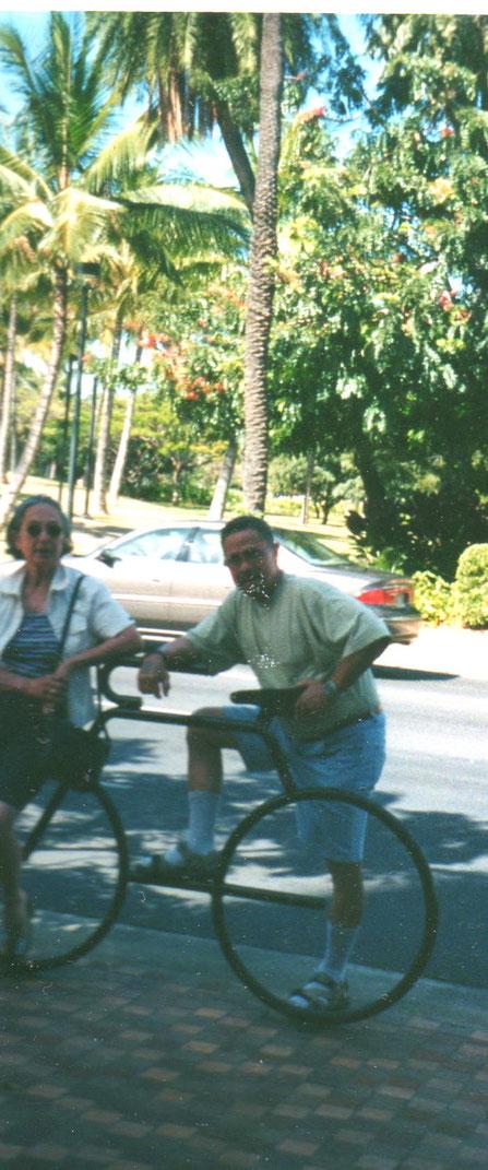 On the Bike in Hawaii