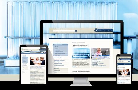 Webseite für MVZ