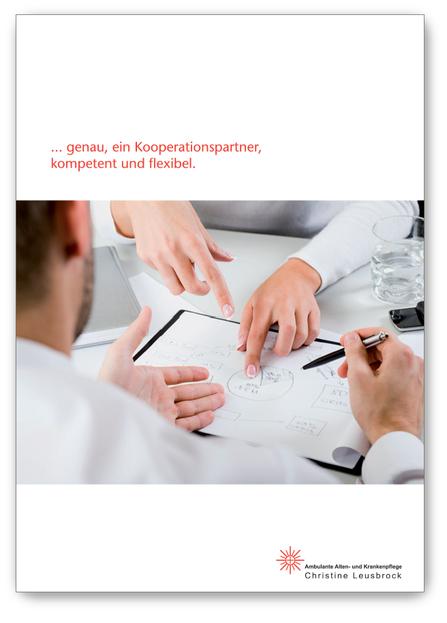 Imagebroschüre, plan2 werbeagentur metelen