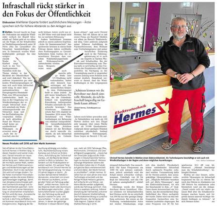 Rhein-Lahn-Zeitung v. 21.03.2015