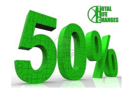 50 % de commissions TLC