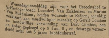 Provinciale Noordbrabantsche en 's Hertogenbossche courant 05-10-1878