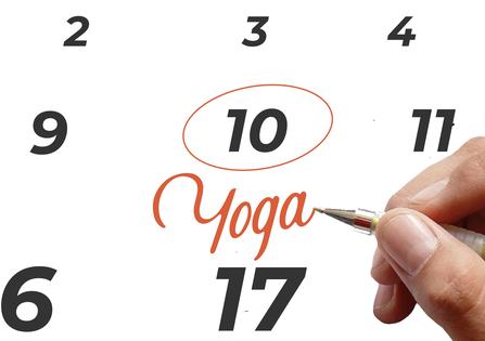 Planifiez un cours de Yoga au travail
