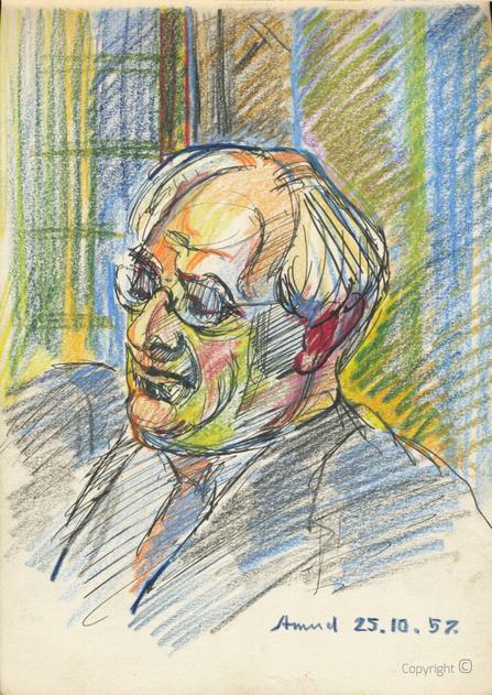 Amud Uwe Millies (1932-2008): Hanns Heinen, 1957