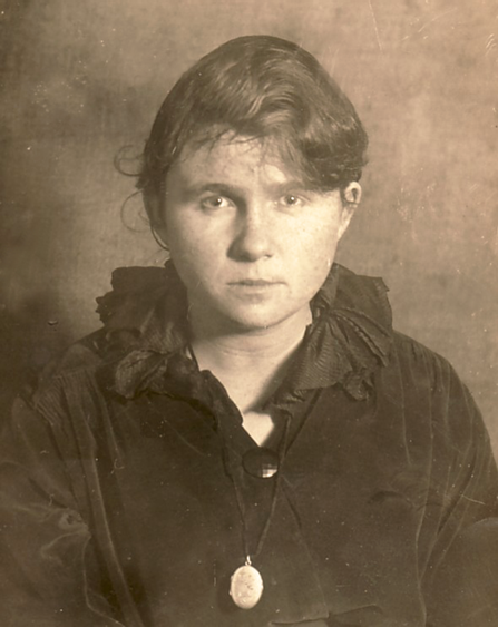 Historische Aufnahme: Erna Heinen-Steinhoff, 1919