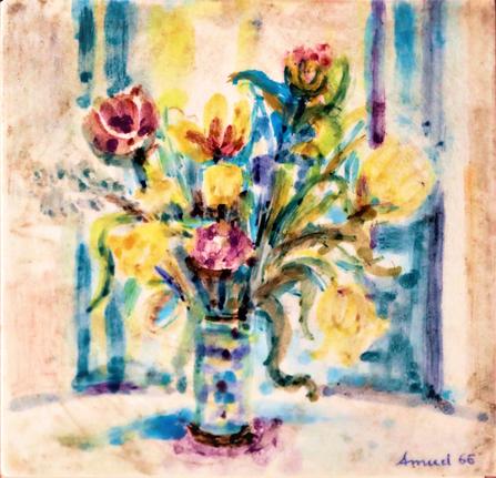 Blumenstilleben, 1966