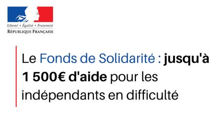 covid-19 fonds de solidarité