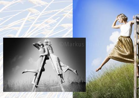 Model: Helena  Agency: JAVA Model Management Model: Charlotte Agency: JAVA People Management Haare & Make-up: Marieke B. & Elena D. Produktion: Bloos Make-up & Hair Academy Foto: Markus Thiel www.bloos-academy.de