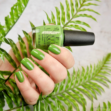 OPI • Green-wich Village (NL B69) • OPI Mod About Brights Collection 2008