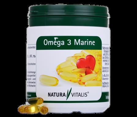 Natura Vitalis Omega 3 Fettsäure plus Versand - Good Life