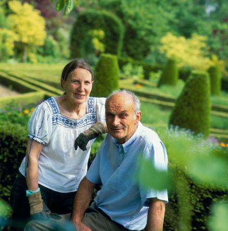 Lidwine et Bruno Goisque - Propriétaires du Parc floral de Digeon - Parcs et Jardins de Picardie