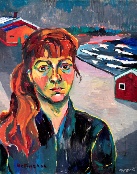 Bettina Heinen-Ayech (1937-2020): Portrait of Youma, 1963