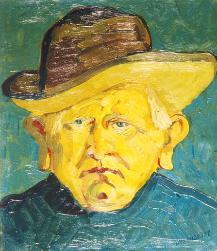 Self-portrait, 1935