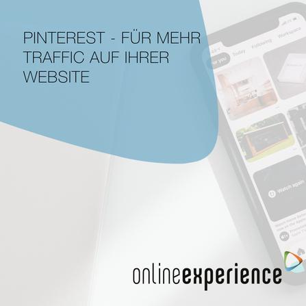 Pinterest - Für mehr Traffic auf Ihrer Website