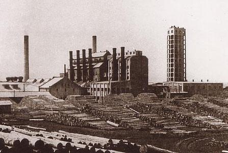 王子製紙豊原工場(1917年 - 1945年)