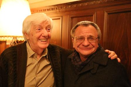 Джордже Марьянович и Рудольф Фурманов. Белград. 2 ноября 2015 года