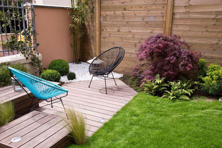 Aménagement terrasse jardin