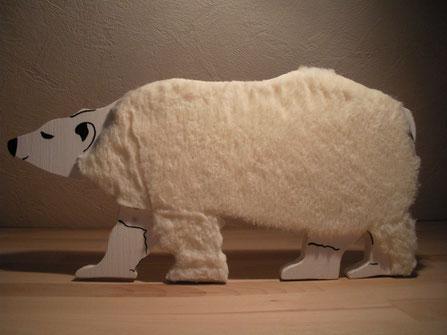 Streicheltier Eisbär