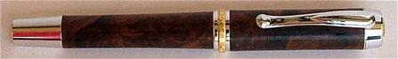 Füller aus Wüsteneisenholz gedrechselt