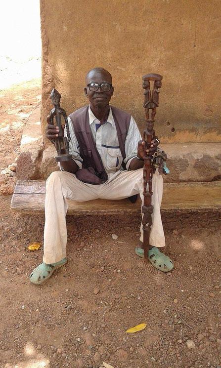 Senoufo Senufo carver Zana Coulibaly, Kanoroba