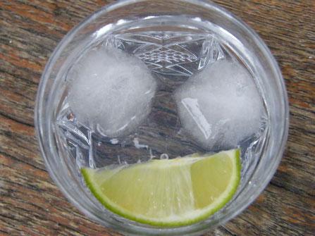 Ein kühler Gin-Tonic lächelt uns an - Foto Vesna Rau