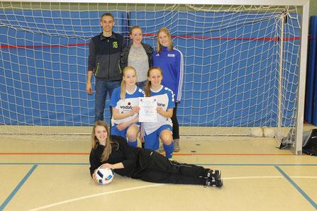 Das B-Mädchen-Team der Viktoria Großenenglis in Ahnatal.