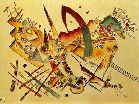 "W. Kandinsky, ""Untitled"" (1922)"