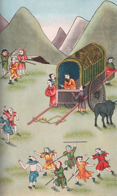 Fig. 31. Henri DORÉ (1859-1931) : Recherches sur les superstitions en Chine. Tome XIII.A. Vie de Confucius illustrée. Variétés sinologiques n° 49, Zi-ka-wei, 1918.