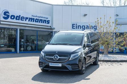 behindertengerechter Mercedes-Benz V300 D Beifahrerumbau, Heckeinstieg, Future Safe, Dockingstation, Gegensprechanlage, Sodermanns