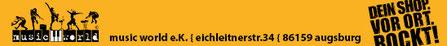 Gitarrenberatung und unterricht Augsburg