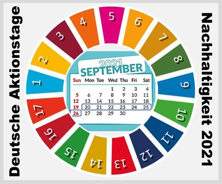 Aktionstage 2021 zu den 17 Zielen der Vereinten Nationen