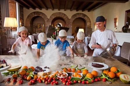 The whole family will love taking a cooking class together!