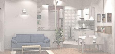 Siamo Designer di Interni a Monza Brianza e Milano, arrederemo insieme la tua casa.