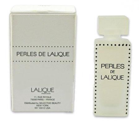 LALIQUE - PERLES MINIATURES DANS BOÎTE SIMPLE : EAU DE PARFUM 4,5 ML