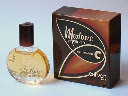 MADAME CARVEN - MINIATURE  EAU DE TOILETTE 5 ML