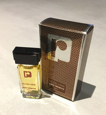PACO RABANNE - EAU DE METAL 4 ML : MINIATURE IDENTIQUE A LA PHOTO PRECEDENTE