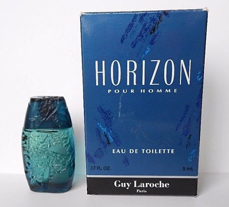 HORIZON POUR HOMME - EAU DE TOILETTE 5 ML : MINIATURE IDENTIQUE A CELLE DE LA PHOTO PRECEDENTE