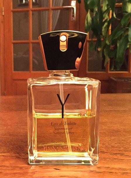 YSL - LE PREMIER PARFUM D'YVES SAINT-LAURENT : Y POUR FEMME - VAPORISATEUR EAU DE TOILETTE 100 ML