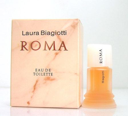LAURA BIAGIOTTI - ROMA EAU DE TOILETTE : BOÎTE PLUS GRANDE QUE LES PRECEDENTES