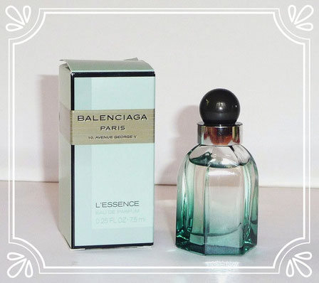 2011 - BALENCIAGA PARIS - L'ESSENCE, EAU DE PARFUM 7,5 ML