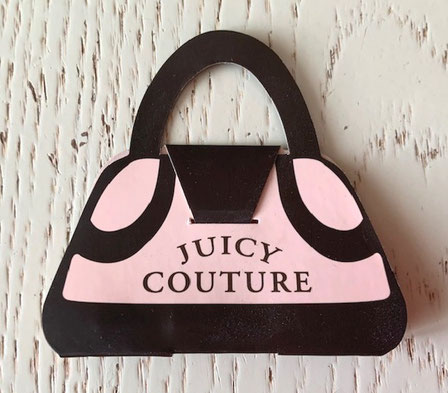 JUICY COUTURE - ORIGINAL ECHANTILLON-TUBE PRESENTE DANS UN SAC A MAIN EN CARTON