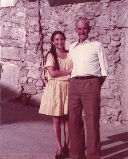 Con mi padrino. F. Pedro.