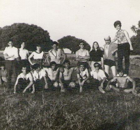 Grupo de la Puebla, años 70. F. Pedro. P. Privada.