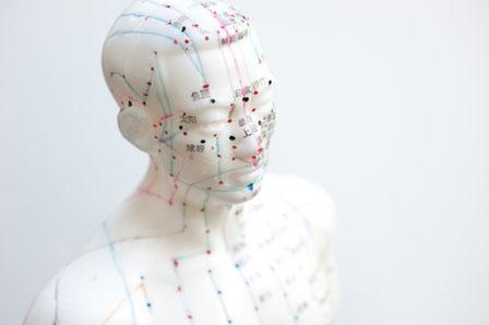 Akupunkturschema Kopf
