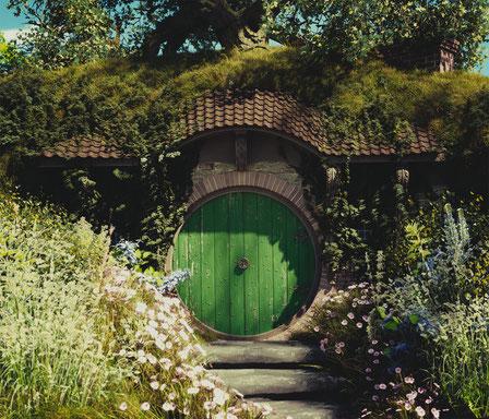 Hobbithöhle | Fotoleinwand für die Deutsche Tolkien Gesellschaft e.V.