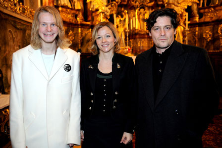Weihnachtskonzert mit Lesung für Round Table Gmunden mit Jona Pesendorfer, Fritz Karl